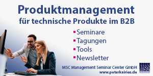 Werbebanner MSC Management Seminar Center GmbH